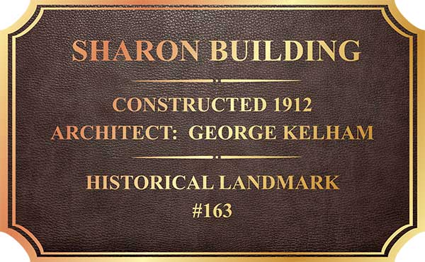 building plaque. Black Bedroom Furniture Sets. Home Design Ideas